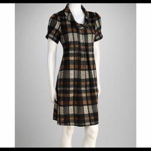 Jessica Howard Womens Plaid Fit & Flare Dress JH80